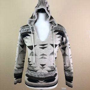 American Eagle Hooded Womens Sz XS Sweater Cute
